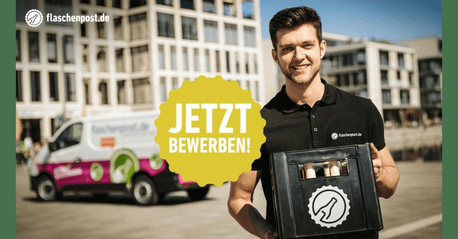 Fahrer / Auslieferungsfahrer (m/w/d) Getränke in Vollzeit / Teilzeit / als Minijob / Midijob bei flaschenpost SE