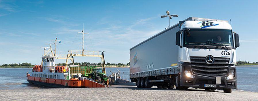 LKW Fahrer / Berufskraftfahrer (m/w/d) Nahverkehr in Vollzeit bei L.I.T. Cargo GmbH