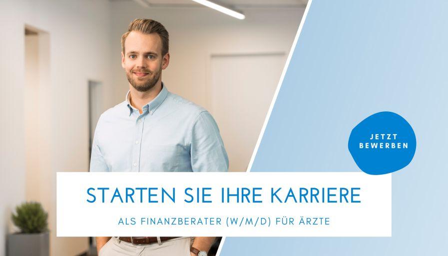 Finanzberater (m/w/d) für Ärzte im Außendienst/Vertrieb – Absolventen, Quereinsteiger und Branchenkenner gesucht bei Deutsche Ärzte Finanz Beratungs- und Vermittlungs-AG