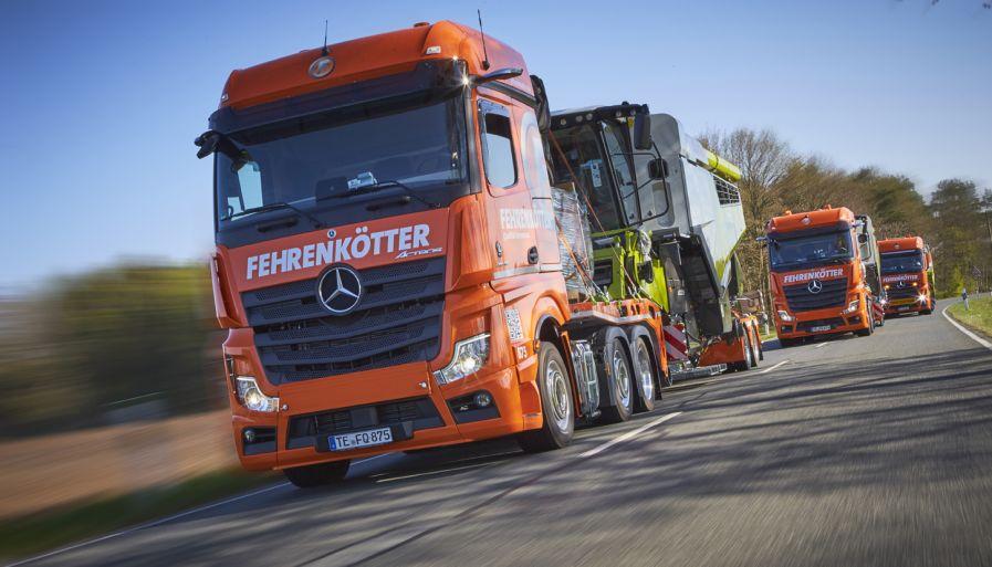 LKW Fahrer / Berufskraftfahrer / Fernfahrer / Fahrer / Kraftfahrer (m/w/d) in Vollzeit bei Fehrenkötter Transport & Logistik GmbH