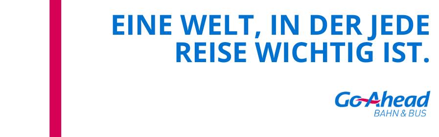 Ausbilder Triebfahrzeugführer (m/w/x) bei Go-Ahead Verkehrsgesellschaft Deutschland GmbH