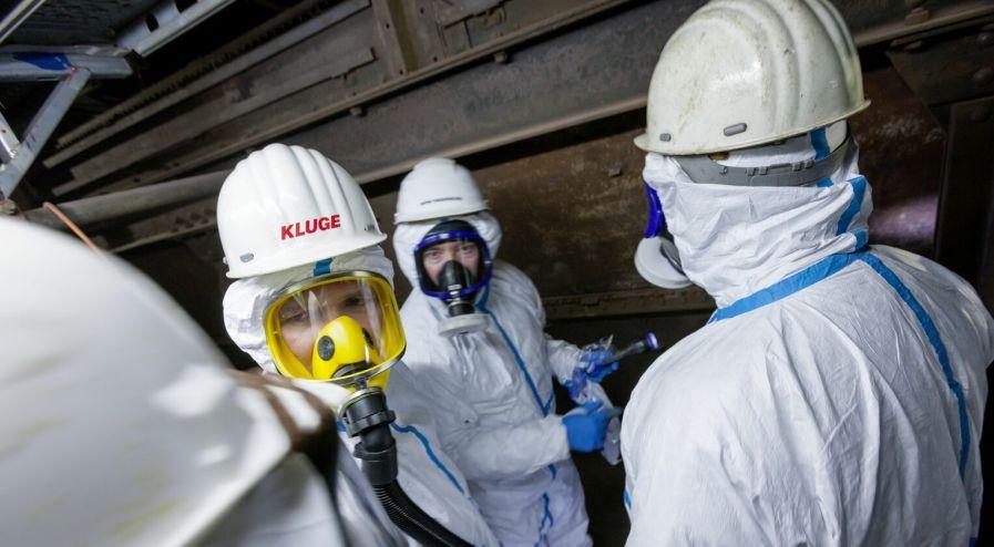 Handwerker als Vorarbeiter (m/w/d) für die Schadstoffsanierung in Vollzeit bei Kluge Sanierung GmbH