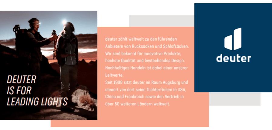 Personalsachbearbeiter (m/w/d) in Teilzeit bei Deuter Sport GmbH