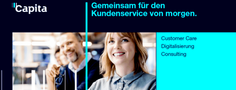 Kundenbetreuer / Kundenberater (m/w/d) kaufmännischer Inbound (mit Homeoffice-Option) in Vollzeit / Teilzeit - auch Quereinsteig bei Capita Customer Services (Germany) GmbH