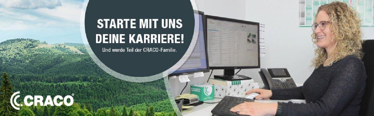 Auszubildende (m/w/d) bei CRACO GmbH.
