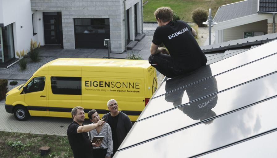 Dachdecker / Monteur / Installateur (m/w/d) Solaranlagen in Vollzeit bei EIGENSONNE GmbH