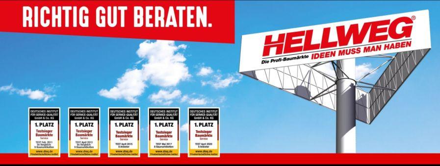 Mitarbeiter Personalabrechnung (w/m/d) in Vollzeit bei HELLWEG Die Profi-Baumärkte GmbH & Co. KG