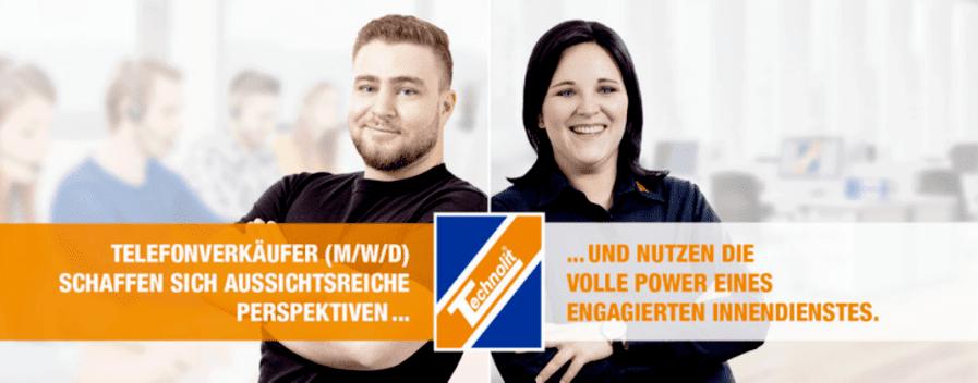 Vertrieb / Sales Manager / Vertriebsmitarbeiter / Telemarketing Agent (m/w/d) in Vollzeit/Teilzeit - auch Quereinsteiger bei TECHNOLIT GmbH